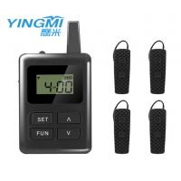 Wholesale black color Portable Tour Guide System communication system for travel group from china suppliers