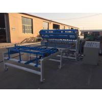 China Synchronous Control Galvanized Fence Mesh Welding Machine / Mesh Panel Welding Machine on sale