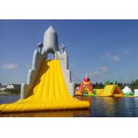 Quality Customized Color Great Commercial Inflatable Water Slides For Water Equipment for sale