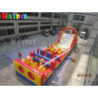 Wholesale 3 in 1 Combo Obstacle,inflatable obstacle course KOB048 from china suppliers