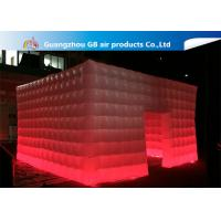 Wholesale 210T Polyester Fantastic House Inflatable Cube Tent Size 5*5m from china suppliers