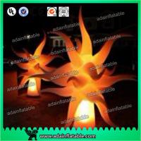 Wholesale Event Decoration Lighting Inflatable Flame Model,Inflatable Pillar With LED Light from china suppliers