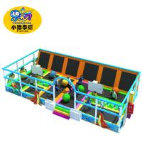 Wholesale Children Bounce Indoor Trampoline , Rectangular Kids Giant Trampoline Park from china suppliers