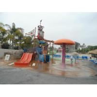 Wholesale Fiberglass / Carbon Steel Kids' Water Playground Water House For Family Fun from china suppliers