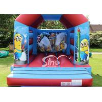 Wholesale Commercial Children Inflatable Jumping Castles With Despicable Me Theme from china suppliers