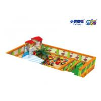Wholesale Outdoor Square Large Childrens Sandpit , Indoor Playground Childrens Play Sand Pits from china suppliers