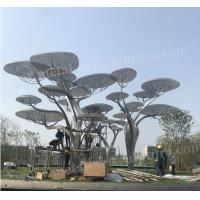 Buy cheap Large Outdoor Stainless Steel Tree Sculpture Modern Art Design As Public from wholesalers