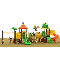 Buy cheap Park Kids Climbing Children'S Plastic Outdoor Play Equipment Air Plane Roof from wholesalers