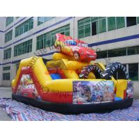 Wholesale inflatable 0.55mm pvc tarpaulin hot sell funny car slide from china suppliers