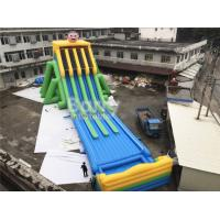 Wholesale Commercial Grade 4 Lanes Wet Giant Inflatable Water Slide For Big Event from china suppliers