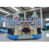 China 0.55mm Pvc Tarpaulin Kids Inflatable Castle Bounce House 5 X 5 X 3m For Water Park on sale