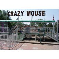 Wholesale Unique Crazy Mouse Roller Coaster Playground Equipment Slide , 186m Length from china suppliers