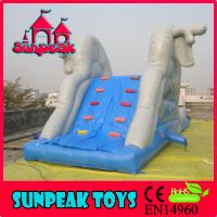 Buy cheap WL-1836 New Outdoor Commercial Inflatable Water Slides,Inflatable Aqua Slide from wholesalers