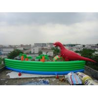 Wholesale Amazing Giant PVC Inflatable Water Parks for Outdoor Summer Water Games 30m Diameter from china suppliers