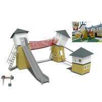 Wholesale Styling Special Cottage Custom Outdoor Playsets Kindergarten Haunted House Equipment from china suppliers