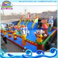 Wholesale New Inflatable Bouncy Castle For Sale Backyard Inflatable Castle Slide For Kids from china suppliers