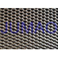 China Shopping Hall Stainless Steel Expanded Metal Triangle Holes Security Mesh on sale
