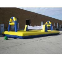 Buy cheap Commercial Grade PVC Inflatable Volleyball Court Fire Retardant from wholesalers
