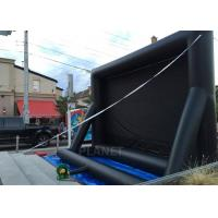Quality Advertising Inflatable Outdoor Movie Screen , Inflatable Projector Screen for sale