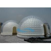 Wholesale White Double Layer Exhibition Inflatable Dome Tent Fire Proof from china suppliers