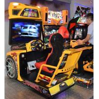 Wholesale Stunning Visual Enjoyment Racing Game Machine With Big High Definition Screen from china suppliers