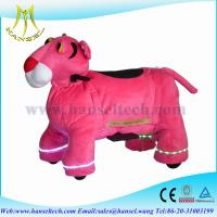 Wholesale Hansel battery operated toys stuffed animal ride electrical animal rides from china suppliers