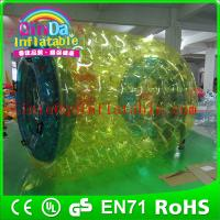 China QinDa Inflatable water wheel for fun water roller ball price water walking roller ball on sale