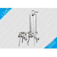 Wholesale Inline Water Filter Cartridge , Cartridge Pool Filters With Quick Open Design from china suppliers