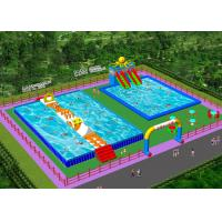 China Waterproof Outdoor Inflatable Amusement Park Project  For Adults on sale