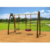 Playground Childrens Outdoor Swing Sets , Safety Outside Swing Sets KP-G003