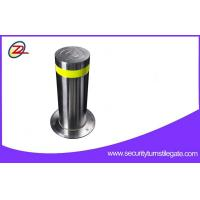 China Security Hydraulic Security Road Blocker , Stainless Steel Automatic Rising Bollards on sale