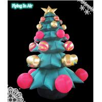 Wholesale 3- 5m Height Giant Decorative Inflatable Christmas Tree for Christmas from china suppliers
