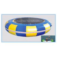 Wholesale 0.9mm PVC Tarpaulin Inflatable Water Trampoline for Water Park (CY-M2095) from china suppliers
