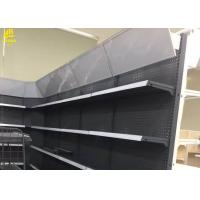 China Led Light Box Grocery Display Racks Strong Load Weight 1.8mm Brackets on sale
