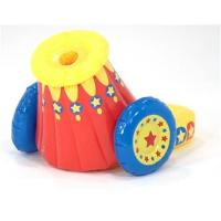 China PVC inflatable ball cannon toy for kids on sale