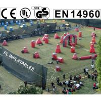 Wholesale 2014 hot sell inflatable paintball bunkers direct sale from FL inflatables factory from china suppliers