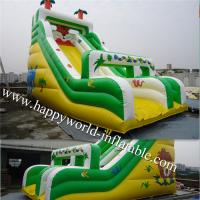 Wholesale inflatable tiger slide , inflatable animal  slide , inflatable dry slide ,inflatable slide from china suppliers