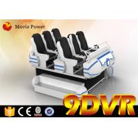 Wholesale Max Load 1200 KG 9d Cinema Simulator With Special Effects 1440 x 2560 VR Headset from china suppliers