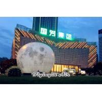 Wholesale Giant 10m Inflatable Light Moon for Square Festival and Stage Decoration from china suppliers