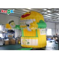Buy cheap 3*3*4m Durable Oxford Cloth Inflatable Lemonade Stand Booth for Advertising from wholesalers