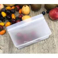 Buy cheap Stand - Up Waterproof Ziplock Bags Reusable Freezer Fridge Bags For Lunch and from wholesalers