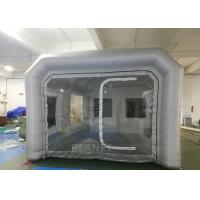 Quality Outdoor Professional Inflatable Car Paint Booth 210 D Reinforced Oxford for sale