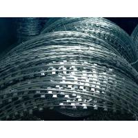 China Security Protected Electric Razor Barbed Wire Welded Mesh Rolls For Fence on sale