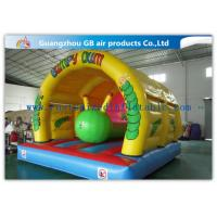 China PVC Waterproof Caterpillar Inflatable Bouncy Castle Moonwalks For Kids on sale