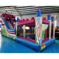 Wholesale Children Commercial Inflatable Slide Playground Bouncy Castle from china suppliers