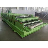 Wholesale 0.3-0.8mm Thickness Roll Former China Double Layer Roof Panel Roll Forming Machine from china suppliers