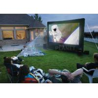 Quality Advertising Inflatable Outdoor Movie Screen CE / UL Blower With Repair Kits for sale