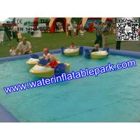 China Bubble Large Inflatable Water Pool Body Rolling Ball Environmental on sale