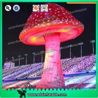 Wholesale 3.5mH Ligthting Inflatable Mushroom Props Model Oxford Material For Event Decoration from china suppliers