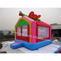 Wholesale butterfly mini bouncy castle , air bouncer inflatable trampoline , bouncer castle house from china suppliers